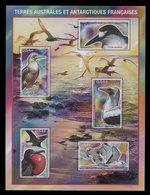 TAAF ** Bloc 21 - Oiseaux Des Iles Eparses - Blokken & Velletjes