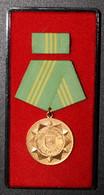 DDR - Für Treue Dienste In Gold - GDR