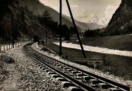 La Voie Ferrée Moderne - Suisse - C.F. - Voie Métrique - Brigue - Viège - Zermatt - Spoorwegen