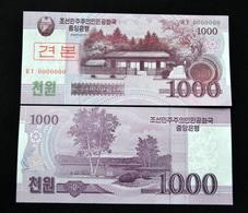 2008  Korea 1000 WON 2008 P-64s UNC SPECIMEN BANKNOTE PAPER MONEY NORTH SOCIALISM CURRENCY ASIA - Korea, North
