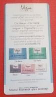 ROMANIA-CIGARETTES  CARD,NOT GOOD SHAPE,0.92 X 0.48 CM - Unclassified