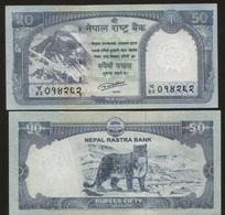 Nepal 50 Rupees 2015 Pick 79 UNC - Nepal