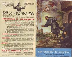 73)librettino Religioso A S.giuseppe Da Copertino - Religion