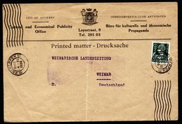 A6179) Frankreich France Drucksache 04.02.36 N. Weimar / Germany - Frankreich