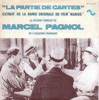 Vinyle 45 T - Marcel Pagnol - Bande Original Du Film Marius Et Fanny  - Comédie La Partie De Cartes - Musique De Films
