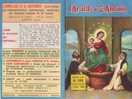 74)librettino Religioso L'araldo Di S.antonio - Religion