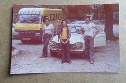 SAVIEM SG2 - Publicité Ricard - PEUGEOT 204 ( Voiture, Auto, Car, Camion - Publicité - Alcool ) - Automobiles