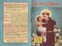 75)librettino Religioso L'araldo Di S.antonio - Religion