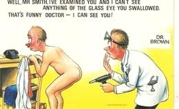 """Well,Mr. Smith I've Examined You......!"" Saucy Bamforth Comic Series PC # 687 - Asti"