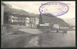 Cartolina Menaggio, Pontile Alla Ferrovia - Italia