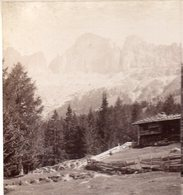 AK-1471/ Rosengarten, Bodner-Schwaig Südtirol  Stereofoto V Alois Beer ~ 1900 - Stereo-Photographie