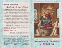 76)librettino Religioso L'araldo Di S.antonio - Chiediamo La Benedizione A Maria - Religion