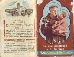 77)librettino Religioso L'araldo Di S.antonio - Le Mie Preghiere A S.antonio - Religion