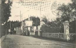 CAP D'ANTIBES - Café Restaurant, Bellevue,arrêt Du Tramway à La Porte, Cabine Téléphonique. - France