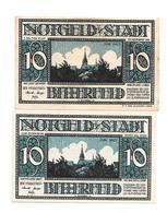 **notgeld Bitterfeld 2 X 10 Pf  111.1/1+6 - [11] Emissions Locales