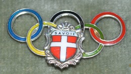 Rare Insigne Savoie Olympique - Freemasonry