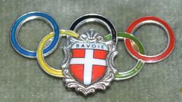 Rare Insigne Savoie Olympique - Insignes & Rubans
