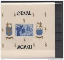 BELGIQUE BLOC 11** SUR L ABBAYE D ORVAL - Blocs 1924-1960