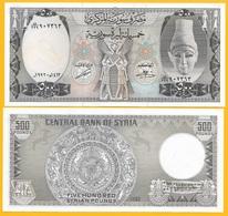 Syria 500 Lira P-105f 1992 UNC Banknote - Siria
