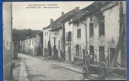 BADONVILLER    Rue Notre Dame     Animées - Autres Communes