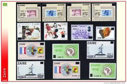 Zaire 1420/33** Commemoratifs Surcharges MNH - 1990-96: Neufs