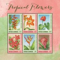 Antigua And Barbuda  2018  Tropical  Flower  I201901 - Antigua And Barbuda (1981-...)