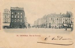 CPA - Belgique - Kortrijk - Courtrai - Rue De Tournai - Kortrijk