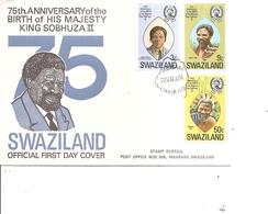 Swaziland ( FDC De 1974 à Voir) - Swaziland (1968-...)