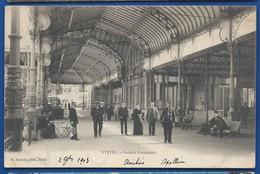 VITTEL    Galerie Promenoir   Animées    écrite En 1903 - Vittel Contrexeville