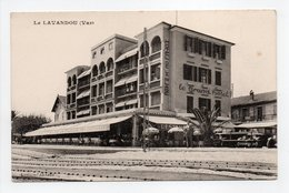 - CPA LE LAVANDOU (83) - HOTEL DE LA PLAGE - Edition Lemaire - - Le Lavandou