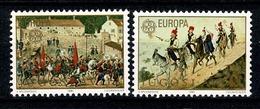 Jugoslavia  1981  Europa  Yv 1769/70** , Mi 1883/84** , Cat. Yv. 1,50 € - 1945-1992 République Fédérative Populaire De Yougoslavie