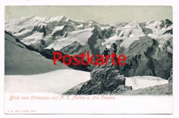 287 Ortler Matteo Piz Tresero Panorama Bergsteiger - Non Classés