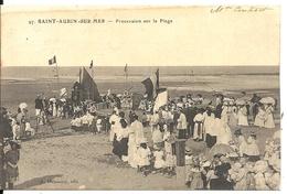 *PROCESSION SUR LA PLAGE - Saint Aubin