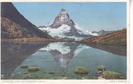 4148   AK- RIFFELSEE UND  MATTERHORN - Suisse