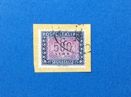 1992 SEGNATASSE 500 LIRE IPZS ROMA ITALIA FRANCOBOLLO USATO STAMP USED - 6. 1946-.. Repubblica
