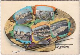 56. Gf. LORIENT. 5 Vues - Lorient