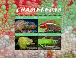 Gambia  2018  Chameleon  Fauna   I201901 - Gambia (1965-...)
