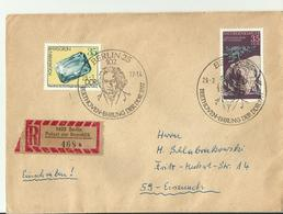 DDR R- CV 19 77 BEETHOWEN STEMPEL - Covers & Documents