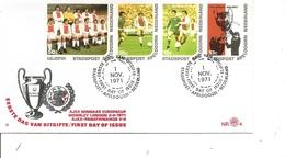 Football ( FDC Privé De Apeldoorn Aux Pays-Bas De 1971 à Voir) - Football