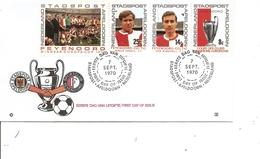 Football ( FDC Privé De Apeldoorn Aux Pays-Bas De 1970 à Voir) - Football