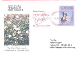 City-Brief Kurier   41 C Auf Sonderumschlag - [7] République Fédérale