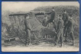 Pièce D'Artillerie De 90           Animées - Matériel