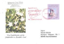 City-Brief Kurier   41 C Auf Sonderumschlag - [7] Repubblica Federale