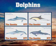Gambia  2018  Fauna Dolphins  I201901 - Gambia (1965-...)
