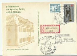 DDR R- CV 1985 MUSIK - DDR