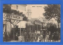 07 ARDECHE - CORNAS Près St-Péray, Devant Le Café Francon (voir Descriptif) - France