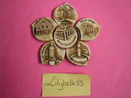 Série Complète De 6 Fèves Artisanales En Porcelaine PUZZLE - MONTIVILLIERS - MIDGARD 2008 ( Figurine Miniature ) RARE - Région