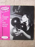 Programme Du Nouvel Olympia (14 Nov/3 Déc 1957) Juliette Gréco - Programmes
