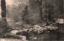 59 LILLE JARDIN VAUBAN LES ROCHERS CIRCULEE 1911 - Lille