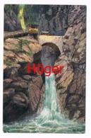 328 Höger Wasserfall Eggental Val D Ega Bozen Künstlerkarte - Non Classés